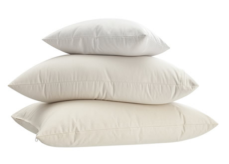 Buckwheat hull night pillows help prevent headaches